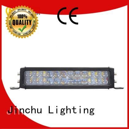 single truckssuv 324w JINCHU Brand jeep led light bar manufacture