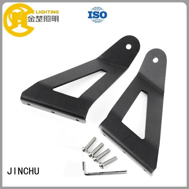 JINCHU Brand road curved price jeep light bar brackets