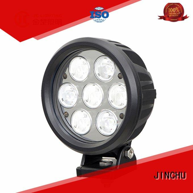 JINCHU Voltage Raw Lumens LED 4 inch round led driving lights Optional Beam