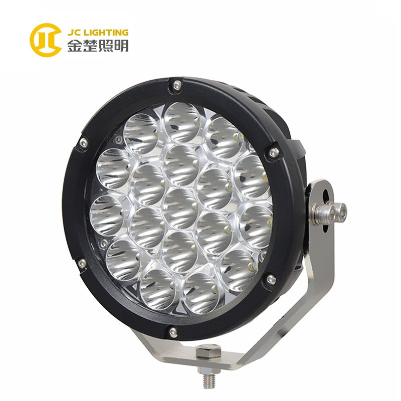 JINCHU JC0518-90W Best Trending 90W LED Driving Work Light 7Inch CE ROHS IP67 For SUV Jeep Truck Hot Products image2