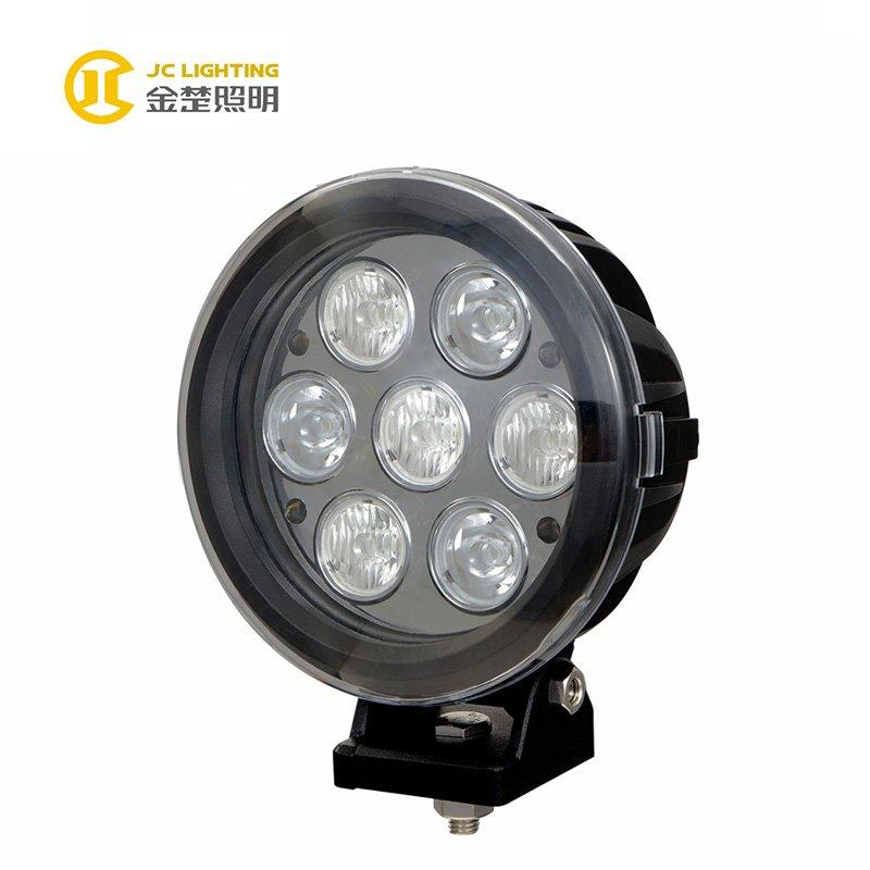 JC1007-70W 7inches Cree 70W Offroad LED light with Spot Flood Combo Beam Auto Parts Accessories