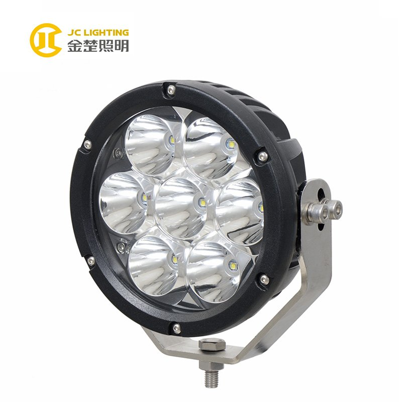 JINCHU JC1007A-70W Good Performance High Power 70W 7Inch LED Driving Light For Car Accessories Hot Products image3