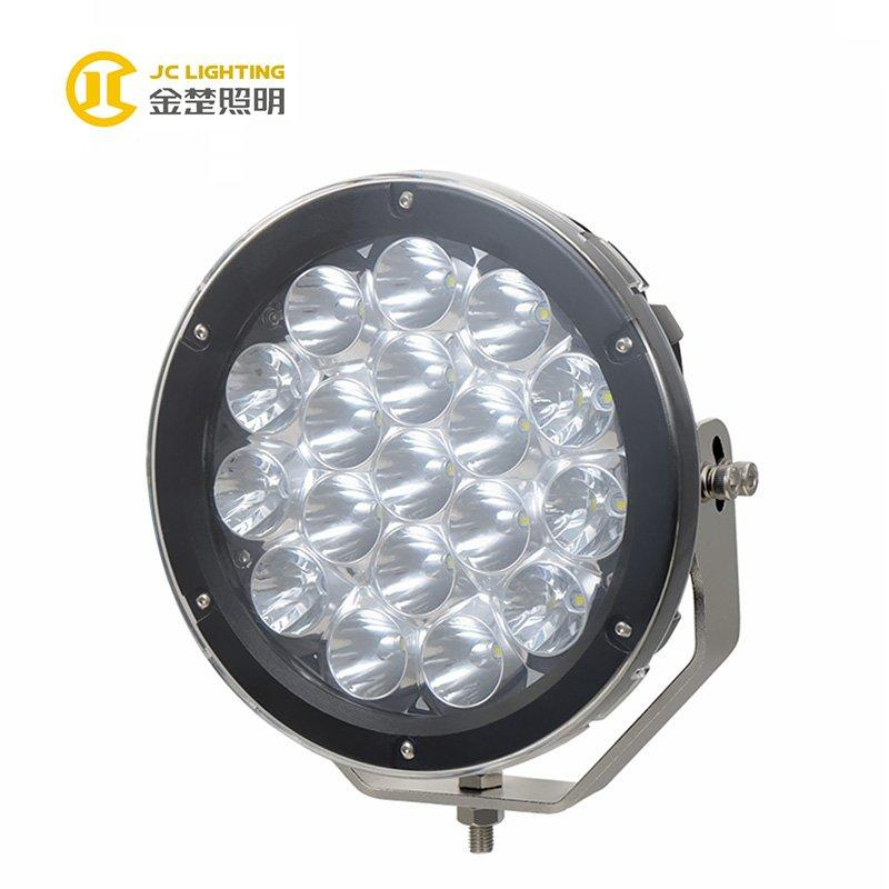 JC1018-180W Cree LED Chip 9 Inch High Power 12V LED Driving Work Light for Truck