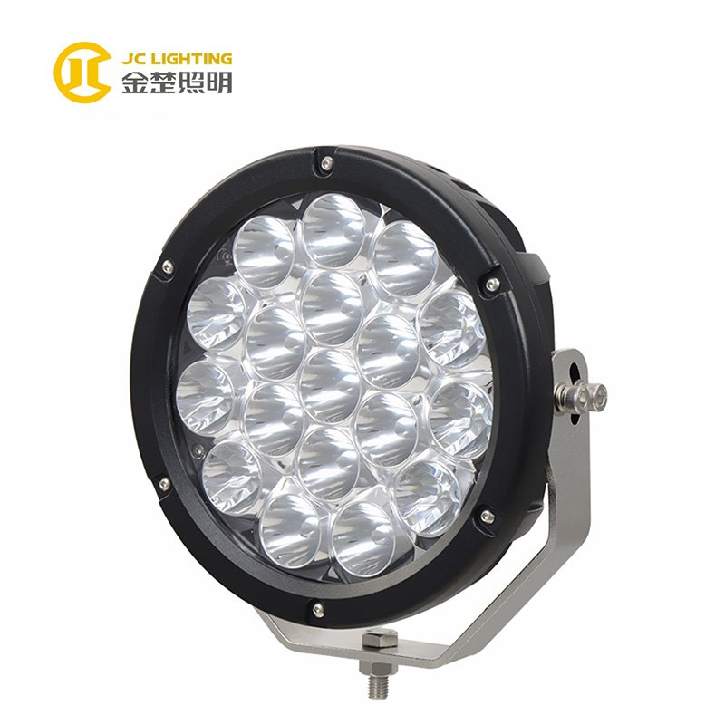JINCHU JC1018-180W 4WD Car Accessories 180W 9inch LED Driving Work Light  For Jeep Off  road Hot Products image6
