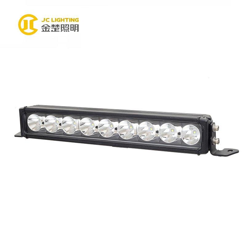 JC10118B-90W Hot Sale 17 Inch Cree LED Light Bars With Big Refector