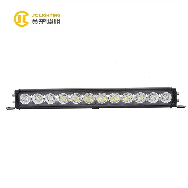 JC10118B-120W Single Row 23 Inch Cree LED Light Bar for Cars, Jeep, Off road