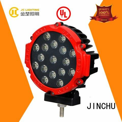 JINCHU Brand bulldozer 12 motorcycle led driving lights