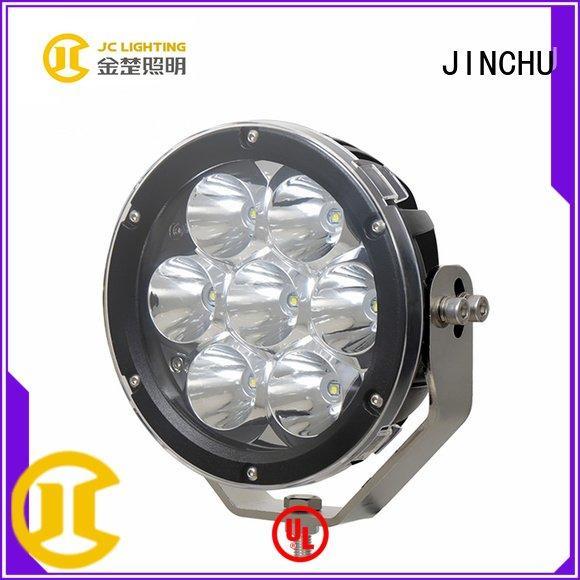 9inch jeep 225w 4 inch round led driving lights JINCHU