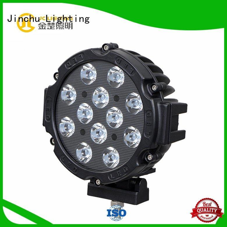 Hot 4 inch round led driving lights beam led driving lights offroad JINCHU