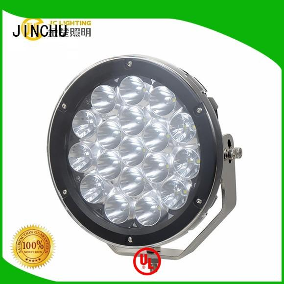 JINCHU Brand 24v inches atv custom 4 inch round led driving lights